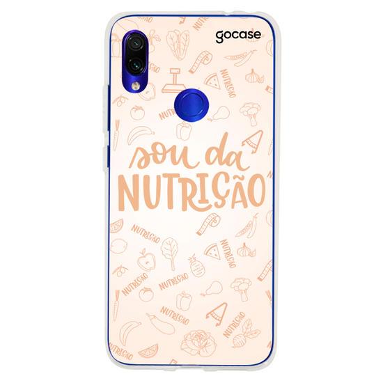 Capinha para celular Sou da Nutrição