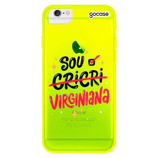 Capinha para celular Sou Virginiana
