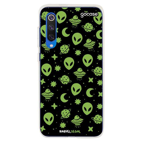 Capinha para celular Space Aliens