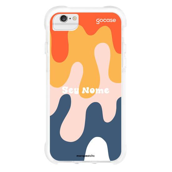 Capinha para celular Splash Colors