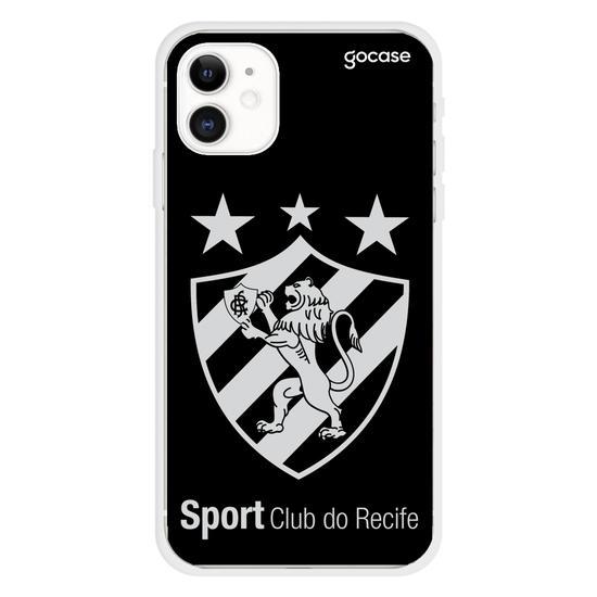 Capinha para celular Sport - Escudo - Preto