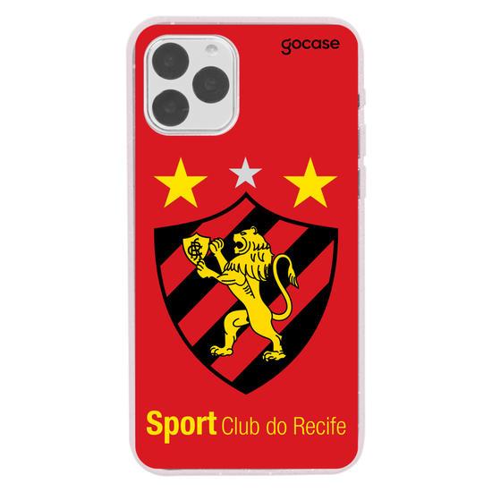 Capinha para celular Sport - Escudo - Vermelho