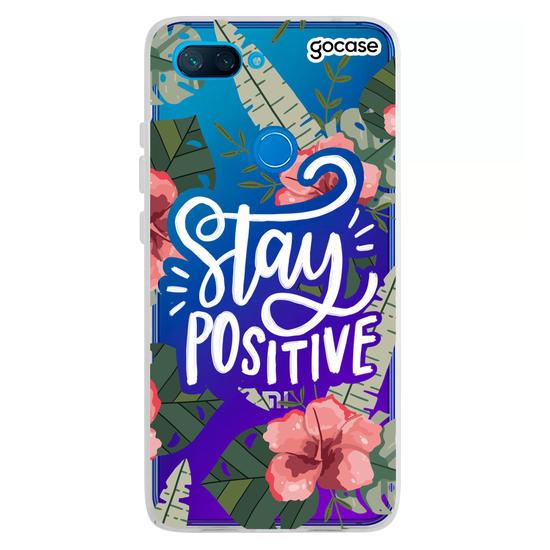 Capinha para celular Mantenha-se Positivo