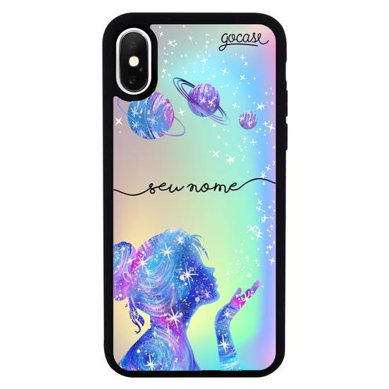 Capinha para celular Prime Holo - Poeira das estrelas Manuscrita Clean