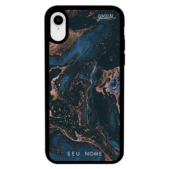 Capinha para celular Prime - Dark Blue Marble