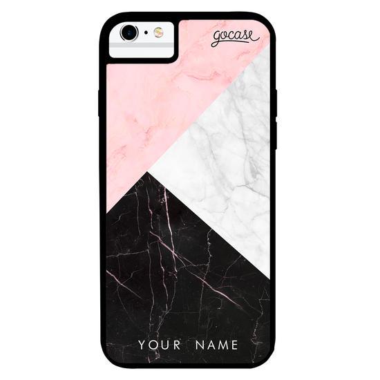 Milano Case - Tricolor Marble Phone Case