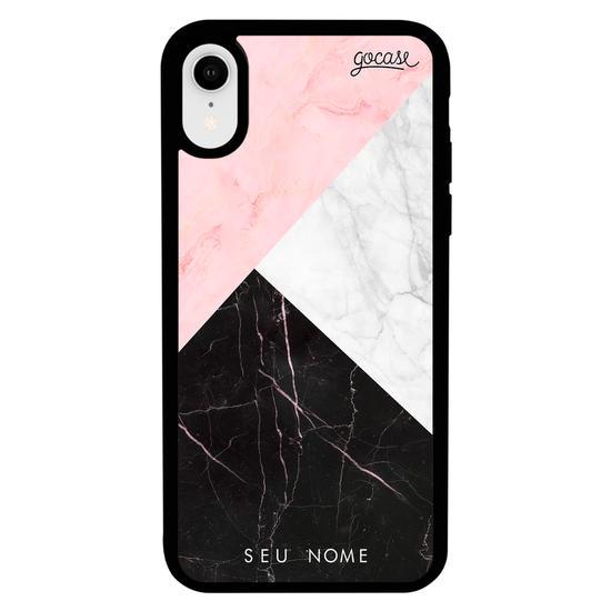 Capinha para celular Prime - Tricolor Marble
