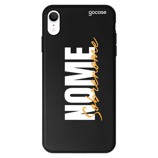 Capinha para celular Color Black - Stylish