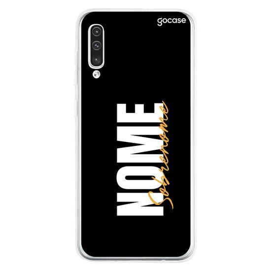 Capinha para celular Stylish fundo Black