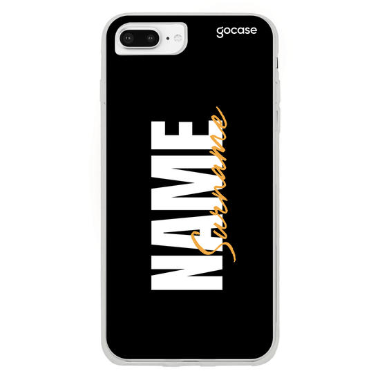 Stylish Black Background Phone Case