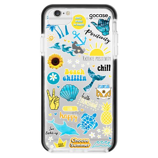Capinha para celular Summer Patches - Summer Collection
