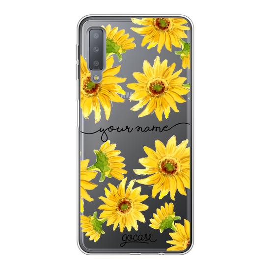 Sunflower Handwritten Phone Case