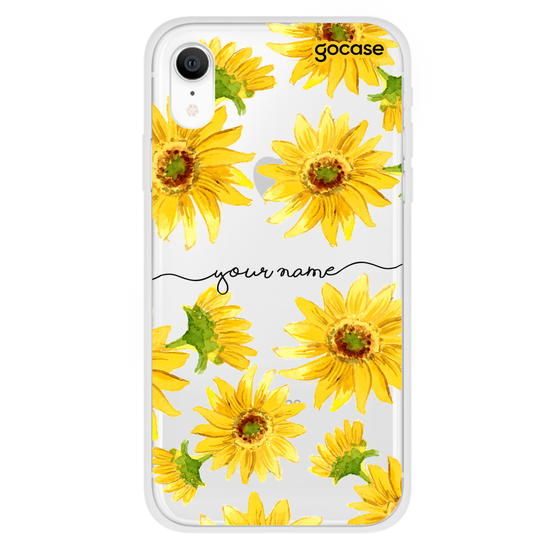 Sunflower Handwritten Phone Case