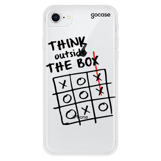 Capinha para celular Think Outside The Box