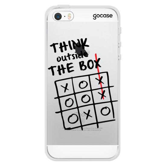 Capinha para celular Think Outside The Box