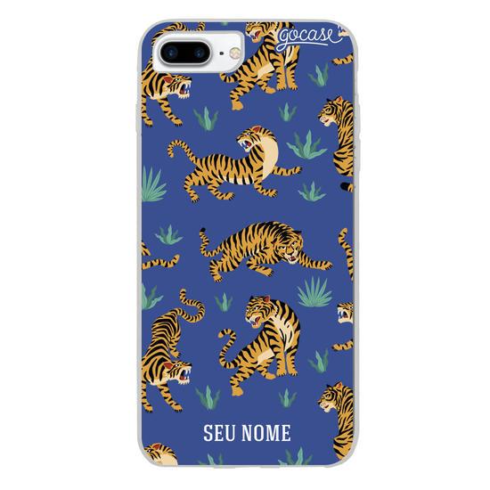 Capinha para celular Tigres Personalizada