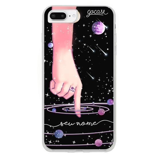 Capinha para celular Tocando o Universo