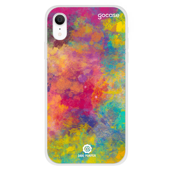 Capinha para celular Art Color Paint