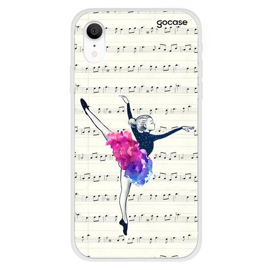 Capinha para celular Bailarina e Partituras Customizável
