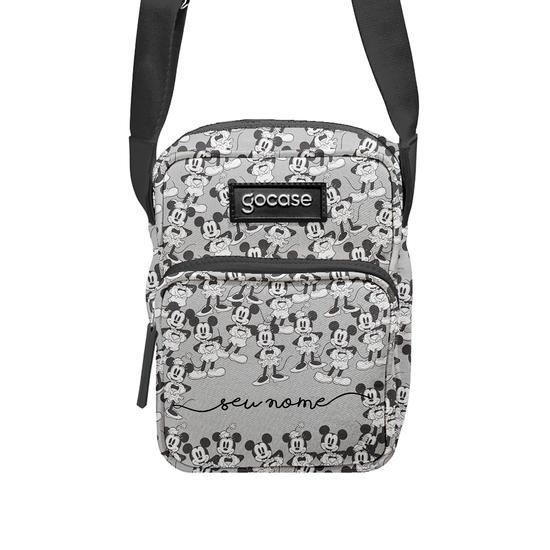 Crossbody Tiracolo Shoulder Bag - Disney Love Black and White
