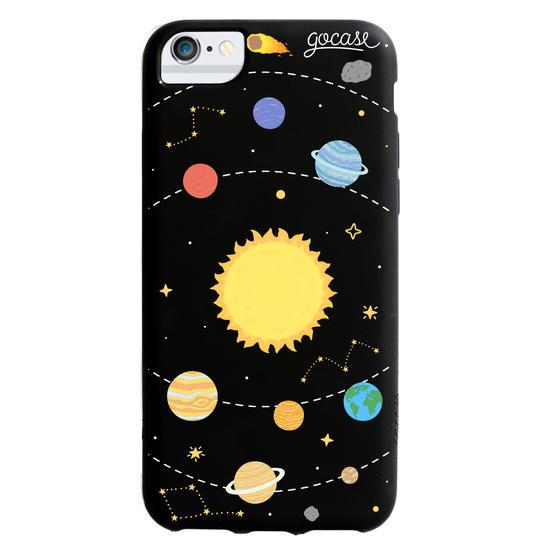 Black Case - Solar System Phone Case
