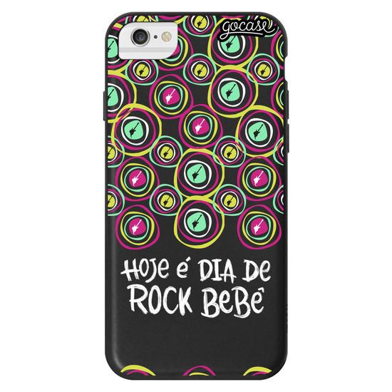 Capinha para celular Color Black - Rock in Rio - Dia de Rock