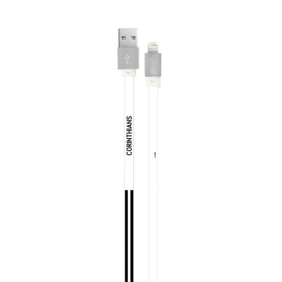 Cabo Personalizado iPhone Gocase Lightning (Certificado Apple) - Corinthians Linhas
