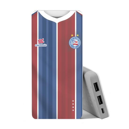 Carregador Portátil Power Bank (10000mAh) - ESPORTE CLUBE BAHIA UNIFORME II