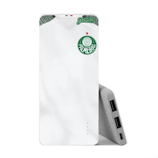 Carregador Portátil Power Bank Slim (5000mAh) - Palmeiras - Uniforme II - 2019