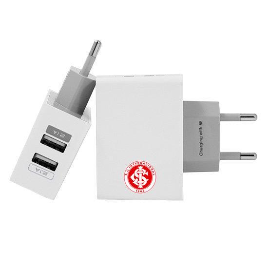 Carregador Personalizado iPhone/Android Duplo USB de Parede Gocase - Internacional - White Número
