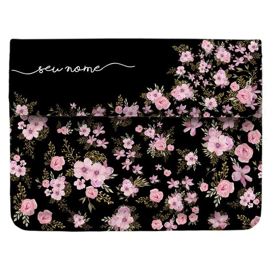 Capa para Notebook Personalizada - Flores Royale