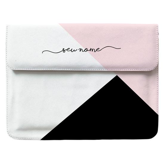 Capa para Notebook Personalizada - Tricolor Manuscrita