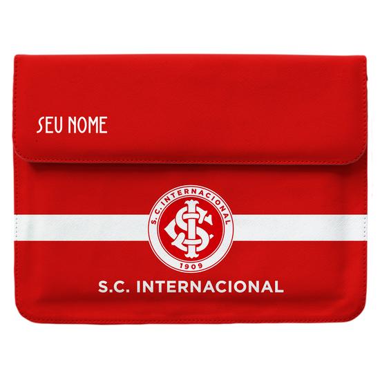 Capa Para Notebook - Internacional - Escudo Colorado - Customizável
