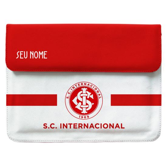 Capa Para Notebook - Internacional - Escudo White - Customizável