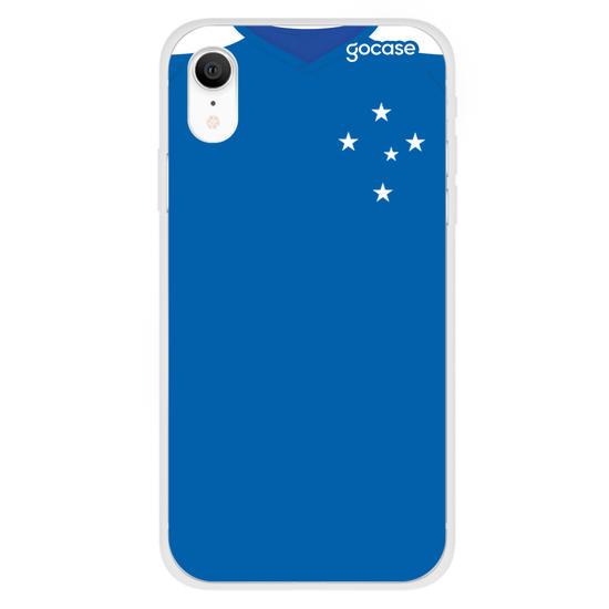 Capinha para celular Cruzeiro - Uniforme 1 2020 Frente