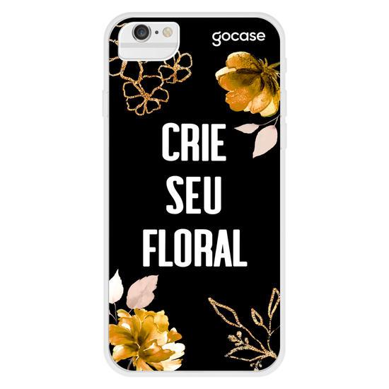 Floral Dourado Phone Case