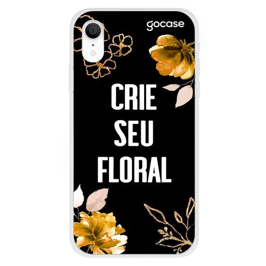 Golden Floral Phone Case