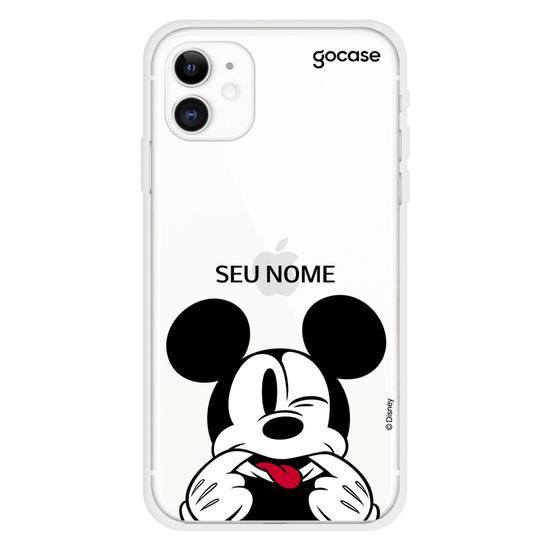 Capinha para celular Mickey Careta