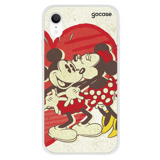 Capinha para celular Disney - Mickey e Minnie - Heart