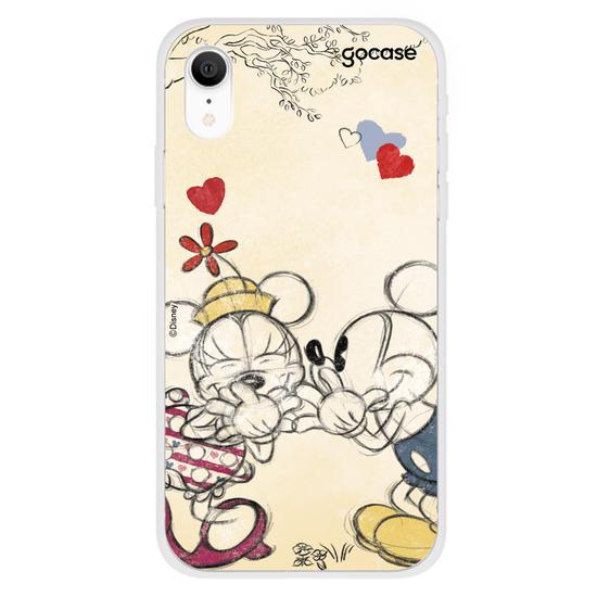 Capinha para celular Disney - Mickey e Minnie - Lines