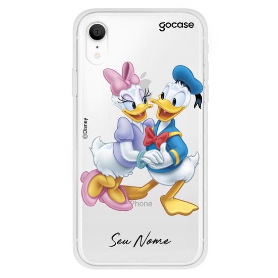 Capinha para celular Disney - Donald e Daisy