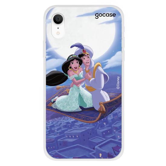 Capinha para celular Disney - Jasmine e Aladdin - Um Mundo Ideal