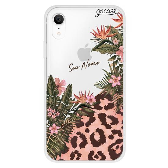 Capinha para celular Fancy Tropical Personalizada