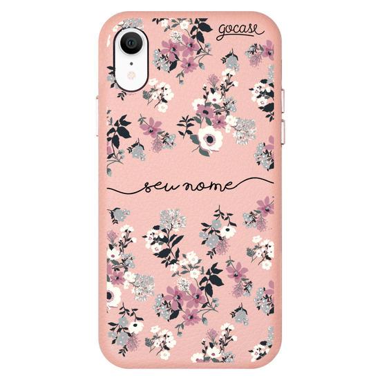 Capinha para celular Fascino - Bem Floral Manuscrita