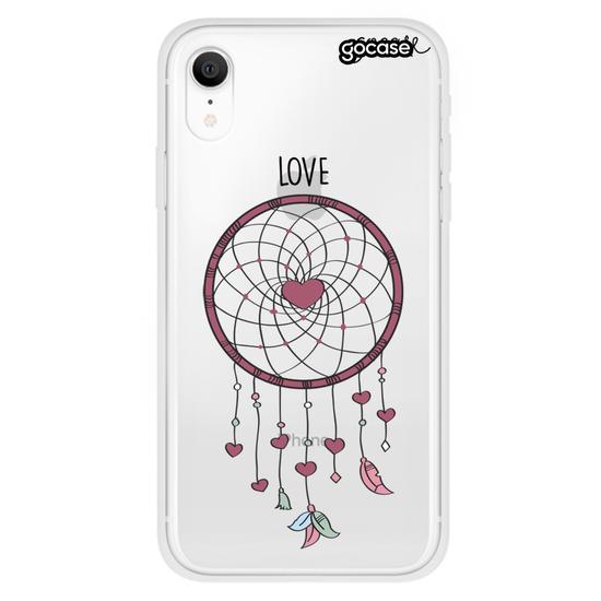 Capinha para celular Filtrando Amor