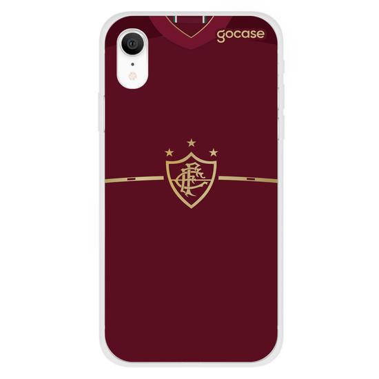Capinha para celular Fluminense - Uniforme Grená - 2012