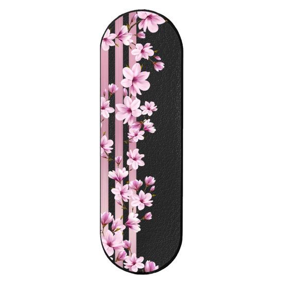 GoGrip Black - Floral Lines