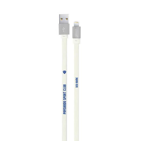 Cabo Personalizado iPhone Gocase Lightning (Certificado Apple) - Paysandu
