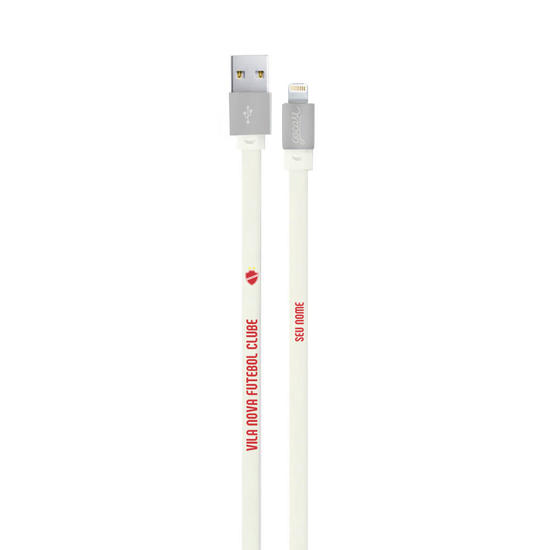 Cabo Personalizado iPhone Gocase Lightning (Certificado Apple) - Vila Nova