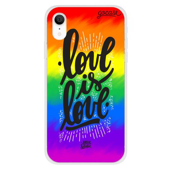 Capinha para celular Love is Love - Colorful Version